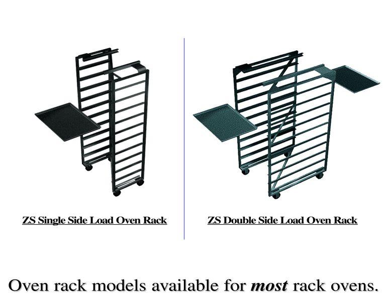Baxter Oven Rack - ZFrame Nesting oven rack. Single side load or double side load rack.
